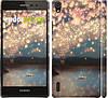 "Чехол на Huawei Ascend P7 Фонарики ""2724c-49"""