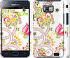 "Чехол на Samsung Galaxy S2 i9100 Узор 4 ""261c-14"""