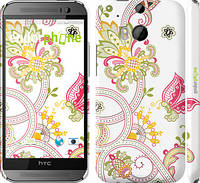"Чехол на HTC One M8 dual sim Узор 4 ""261c-55"""