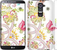 "Чехол на LG G2 Узор 4 ""261c-37"""