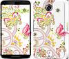 """Чехол на Motorola Nexus 6 Узор 4 """"261c-67"""""""