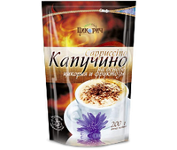 Цикорич. Напиток Капучино  на основе цикория и фруктозы п/э 200г (4820172250111)