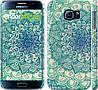 "Чехол на Samsung Galaxy S6 G920 Узор v14 ""2711c-80"""