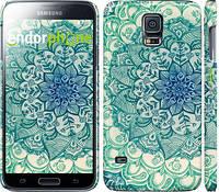 "Чехол на Samsung Galaxy S5 g900h Узор v14 ""2711c-24"""