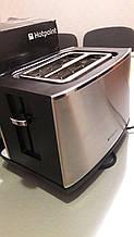 Тостер Hotpoint TT22EAX0 из нержавеющей стали, 850 Вт, серебристый