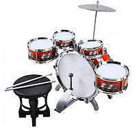 Детские барабаны + тарелка и кресло