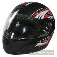 Шлем мотоцикл Torq I5 встроенный черный