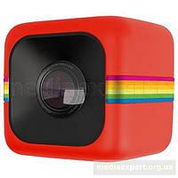 Камера спортивная polaroid cube sb 2997 красная/ый