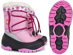 Детская зимняя обувь для девочек (рр. с 25 по 35)