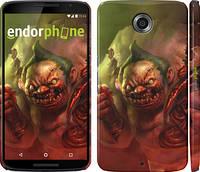"""Чехол на Motorola Nexus 6 Dota 2. Pudge """"989c-67"""""""