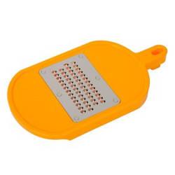 Тонкая терка жолтого цвета сир, яблоко, кокос, морковь, огурец, кабачки, картофель