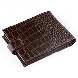 Мужское портмоне Butun 207-002-004 кожаное коричневое, фото 2