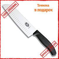 Нож сантоку Victorinox SwissClassic 17 см в подарочной упаковке 6.8523.17G