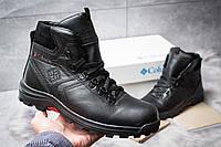 Мужские зимние ботинки на меху Columbia Chinooc Boot WP, черные