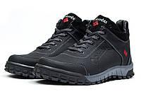 Мужские зимние ботинки на меху Columbia Track III, черные