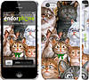 """Чехол на iPhone 5c коты """"1653c-23"""""""