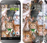 "Чехол на HTC One M8 dual sim коты ""1653c-55"""