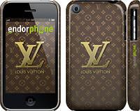 "Чехол на iPhone 3Gs Louis Vuitton 2 ""455c-34"""