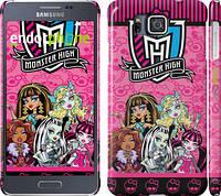 "Чехол на Samsung Galaxy Alpha G850F Монстр хай ""1289c-65"""