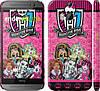 "Чехол на HTC One M8 Монстр хай ""1289c-30"""