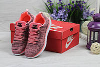 Женские кроссовки  Nike Free Run 4.0 .Розовые. Код товара Д - 4897