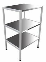 Столик инструментальный СТ-Н-Н (нержавейка), столик накопитель СТ-Н,столик приборный
