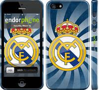"""Чехол на iPhone 5 Реал Мадрид  1 """"2303c-18"""""""