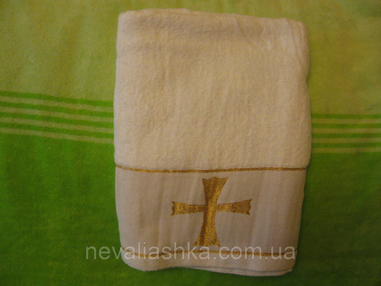 Крыжма -полотенце для крещения р 70-140 Турция