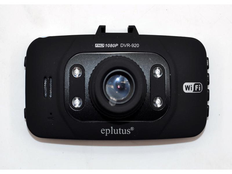 """Автомобільний відеореєстратор 2 камери Eplutus DVR-920 с WIFI (2,7"""" / FullHD)"""