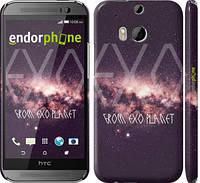 "Чехол на HTC One M8 Exo planet ""2779c-30"""