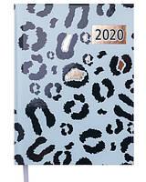 Ежедневник датированный 2020 А5 Buromax WILD мятный