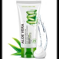 Очищающая пенка для умывания Rorec Natural Skin Care с экстрактом алое 100 мл
