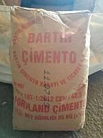Цемент TS EN 197-1 CEM I 42.5 R тара 25 кг в слинг-бегах (марка 500 д0)