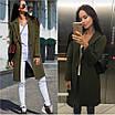 Демісезонне стильне жіноче пальто, розміри 42, 44, 46, 48, багато кольорів, фото 3