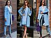 Демісезонне стильне жіноче пальто, розміри 42, 44, 46, 48, багато кольорів, фото 2