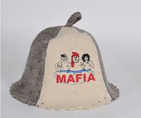 Шапка для бани и сауны войлочная Mafia