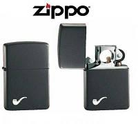 Зажигалка для трубок Zippo 218 PL BLACK MATTE