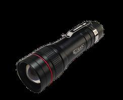 Ліхтарик LED Polise мет.3реж,5W підсв.корп.з гачк(USB+строб+подар.бокс,Zoom)(520)(200шт/ящ)ТМ LUMANO