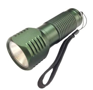 Ліхтарик LED метал. Milliitary COB 5W АКБ 3*AAА+ремешок (В501) (24шт/уп) R