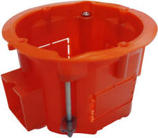 Коробка ОРАНЖ під електророзетку бетон збірна з гвин.d60 аналог schneider (вид.по 1шт) (200ш/ящ)