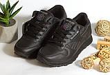 0361 Кроссовки Reebok из натуральной кожи. Черные. 40 размер – стелька 26 см, фото 2