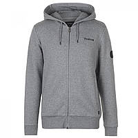Худи Firetrap Brunel Full Zip Grey Marl - Оригинал