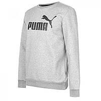 Худи Puma No1 Crew Sweater Grey - Оригинал, фото 1