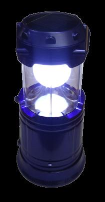 Ліхтар перенос.6+1LED метал.кемпінг Medium синій АКБ (4реж.+USB+соняч.батар+Powerbank) (HW5900T) R