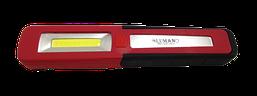 Ліхтар LED д/кемпінга з гачком (противоуд)+магнит 4цв.3W 3*AAA 3 реж.2ліхт(589) (20шт/уп) ТМ LUMANO
