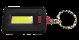 Ліхтар-брелок з кільцем LED 7W пласт.микс (4цв) (3реж+касова зона+стробоскоп+3*ААA)(R-313)(24ш/уп) R