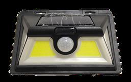 Світ-ик LED на соняч батар.с ДД COB 25-26W 6000K IP64 прямоуг.50диод СЕЗОН.ТОВАР,без поверн (3МІС) R