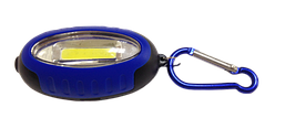 Ліхтарик-брелок з карабіном LED 5W микс (2реж+касова зона+стробоскоп+ 2*АА) (R130) (24шт/уп) R