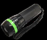 Ліхтарик ручний LED 3W пластиковий микс 3 кольори 3*ААА (касова зона+ремешок) (R-613) (24шт/уп) R