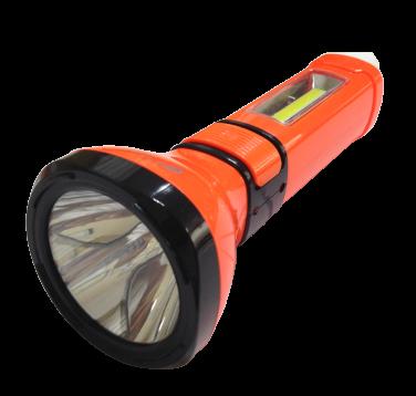 Ліхтар LED с АКБ в комп.3-5W помаранч.3реж, 2 лампи, підсв.корпуса+вилка 220V в Інд.уп (BEJ-8860) R